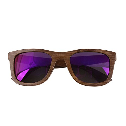 JapanX Bamboo Sunglasses & Wood Wooden Sunglasses for Men Women, Polarized Lenses with Gift Box – Wooden Vintage Wayfarer Sunglasses - Bamboo Wood Wooden Frame – New Style Sunglasses (A5 - Sunglasses Wooden Ebay