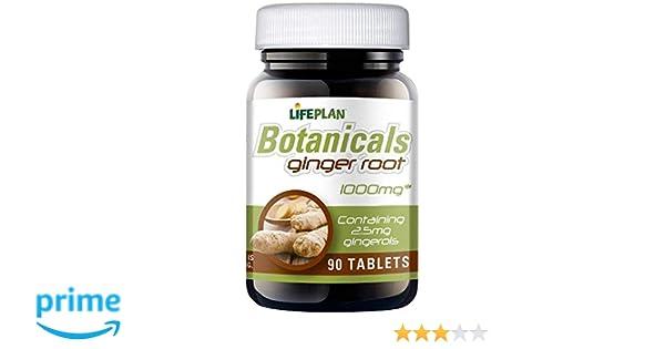 Lifeplan jengibre raíz 1000 mg 90 tabletas: Amazon.es: Alimentación y bebidas