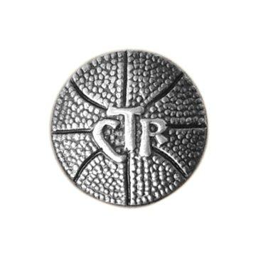Sud baloncesto CTR elegir el derecho Pin de corbata, corbata Tack de acero con plata Finish-, LDS misionero, sacerdocio regalo, regalo de bautismo: ...