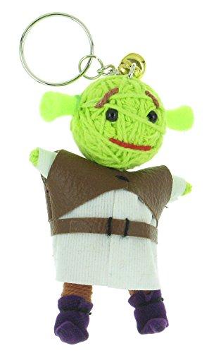 Shrek Voodoo String Doll Keyring Keychain