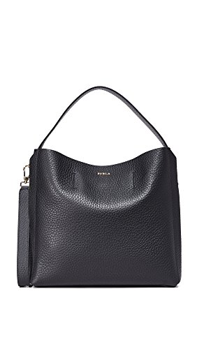 Women's Hobo Bag Medium Capriccio Onyx Furla 4qtWxU7dw4
