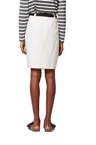 110 Collection ESPRIT Off Jupe Femme Blanc White FgxqzPwC