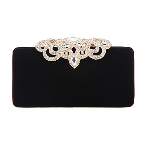 Fawziya Crown Velvet Evening Clutch Purses And Handbags For - Wholesale Glasses Name Brand