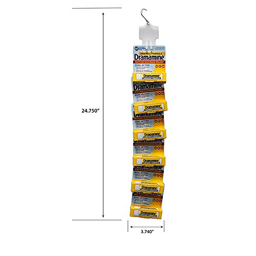 Dramamine Original 6 Package Display-4 Pre Loaded Clip Strips by Dramamine (Image #1)