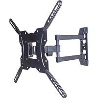 Onn 63607253 Ultra Slim Full-Motion 23-55 TV Mount, Black W/Built-In-Level