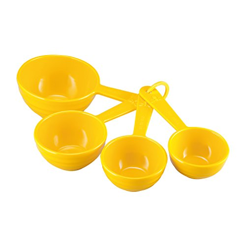 Gourmet Art 4-Piece Bee Hive Melamine Measuring Cup