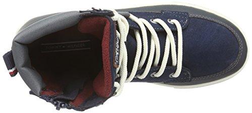 Tommy Hilfiger MASON JR 1C Jungen Hohe Sneakers Blau (MIDNIGHT 403)