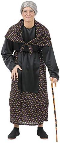 DISBACANAL Disfraces de Vieja - Único, M: Amazon.es: Juguetes y juegos