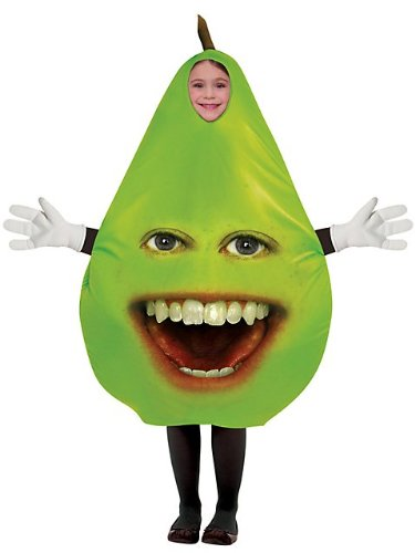 Pear Child Costume Size One-size