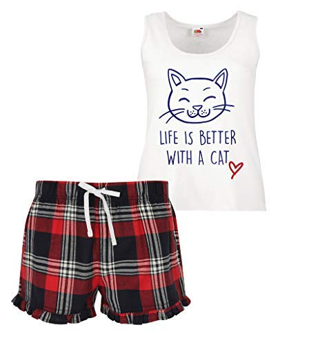 La imagen el vida de con pijama limitada es cambio 60 Segundo conjunto escoc de corto mejor wxIqpFUv