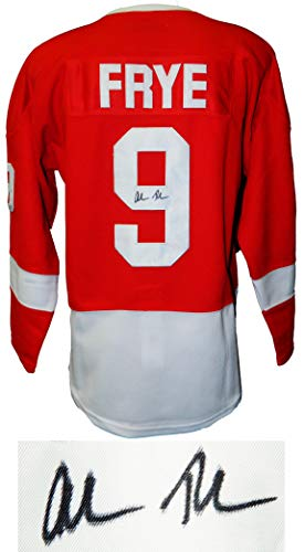 Alan Ruck Signed Ferris Bueller's Day Off Red Detroit Cameron Frye Hockey Jersey