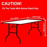 Eurmax Outdoor Table Cover for 9 FT Wedding Party
