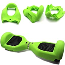 """Silicone Case Cover for 6.5"""" Smart Self Balancing Scooter (Green)"""