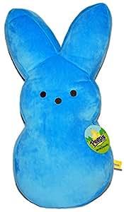 "Amazon.com: Peeps Plush Blue Bunny 17"": Toys & Games"