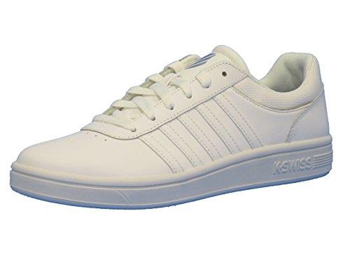K-swiss Court Cheswick, Sneakers Basses Femme Blanc (white/ 101)