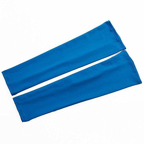 Trace Foam Arm Guard - WELCOMEUNI 1Pair Lycra Sports Fashion Bicycle Fishing Sleeve Cover Sun Protection Arm Guard