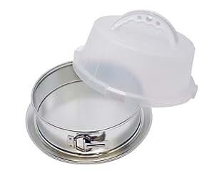 EZ Baker Covered Springform Pan with Leakproof Bottom