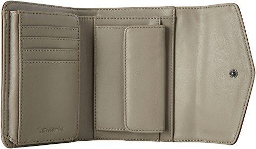 Tamaris Bea Small Wallet With Flap - Portafogli Donna, Braun (Cognac Comb), 4x11x14.5 cm (B x H T)