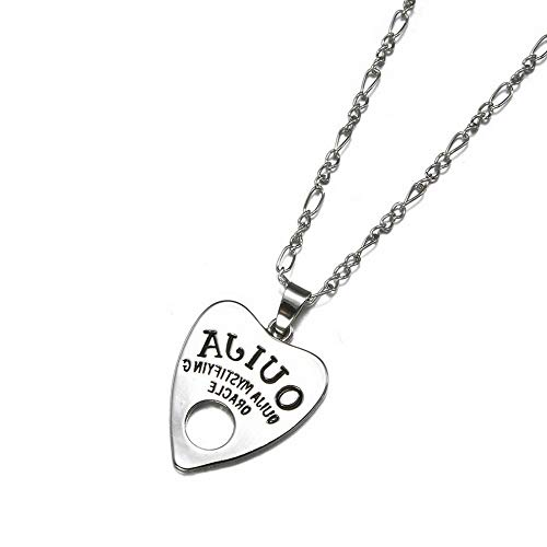 - Werrox Antique Vintage Silver Gothic Ouija Board Pendant Necklace Halloween Jewelry New | Model NCKLCS - 23464 |