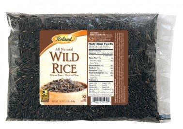 Roland: Wild Rice 16 Oz (12 Pack) by Roland