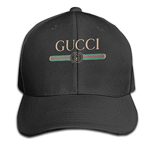 Fhsdiu.fjhiu Gucci Design Visor Hat Vintage Sandwich Cap Caps Black