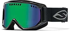 Smith Scope Goggles Black/Green Sol-X, One Size