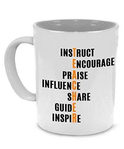 Fun, Unique Teacher Coffee Mug, Perfect as a Graduation, Appreciation or Retirement Gift - Printed on Both Sides