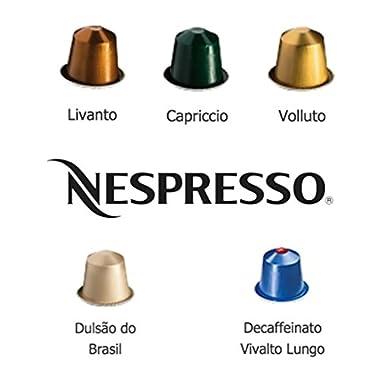 Nespresso Balanced Family Variety Pack for OriginalLine, 50 Capsules