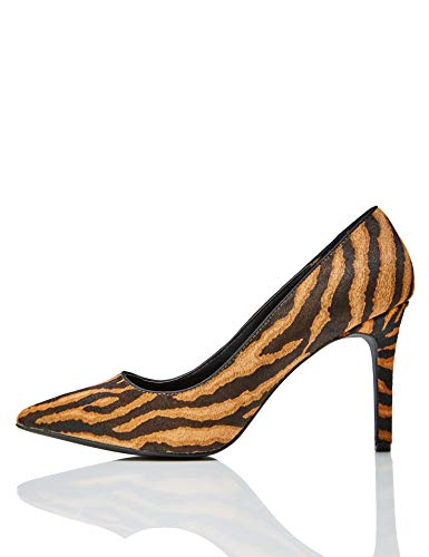 Marque-Amazon-find-Point-High-Heel-Leather-Court-Escarpins-femme