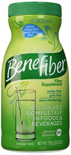 Benefiber Fiber Supplement - 760g 190 Servings Sugar Free