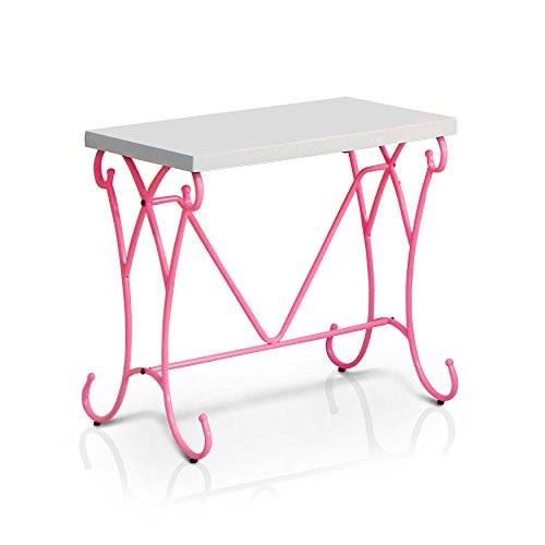 Furniture of America Princess Fantasy Two-Tone Faux Marble Nightstand by Furniture of America