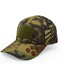 Military Tactical Operator Baseball Cap, Hat with Panels for Stick Patches