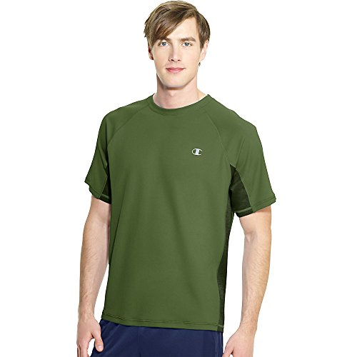 Champion Vapor®Short Sleeve Men's Tee_Service Green/Bottle Green_XL