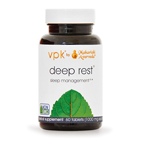 Deep Rest | 60 Herbal Tablets - 1000 mg ea. | Natural Support for Uninterrupted & Restful Sleep