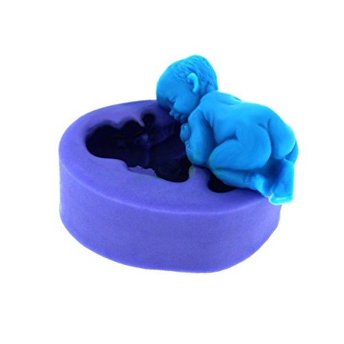 Silicone Cake Decoration Fondant Bakeware Mould Mold Birthday Party Baby Themed [version:x7.8] by DELIAWINTERFEL
