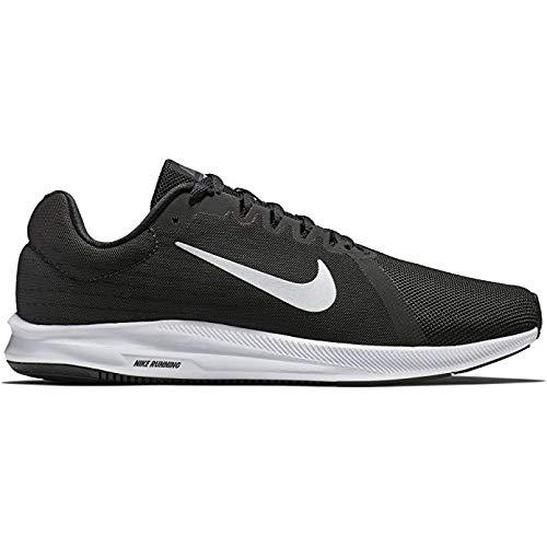 Nike Blanc Anthracite Chaussures Course Downshifter De Noir 8 Hommes r8q01war