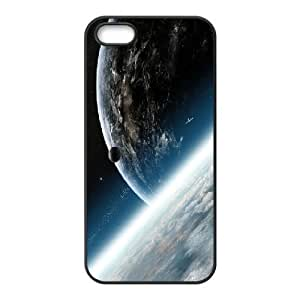 Outer Space IPhone 5,5S Cases, Color Case for Iphone 5s Cute Design Cheap Pharrel - Black