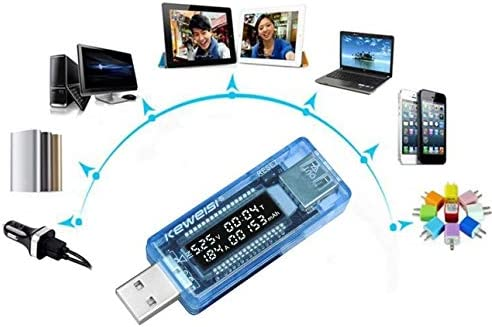 USB tensione di corrente Medico CARICABATTERIE capacità Tester Meter Power Bank UK Venditore