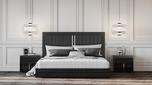 Limari Home LIM-73818 Camden Bedroom Set, Eastern King, Gray - bedroomdesign.us