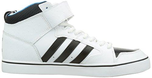 Zapatillas adidas �?Varial 2.0 Mid Blanco/Negro Base/Azul Solar 41 1/3