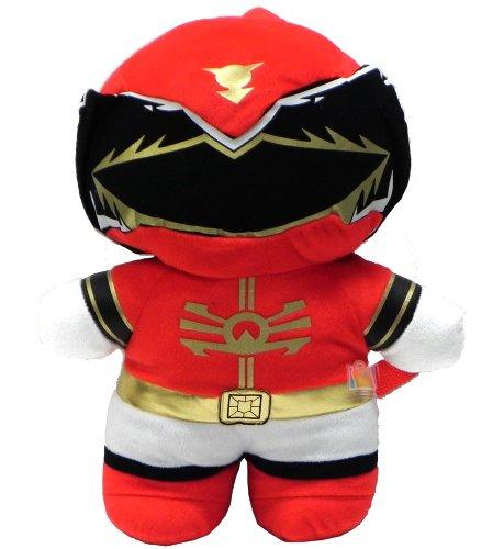 Power Ranger Kawaii Plush Doll Backpack 16 Costume Bag - RED Ranger
