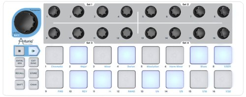 BEATSTEP Arturia MIDI controller & sequencer by Arturia