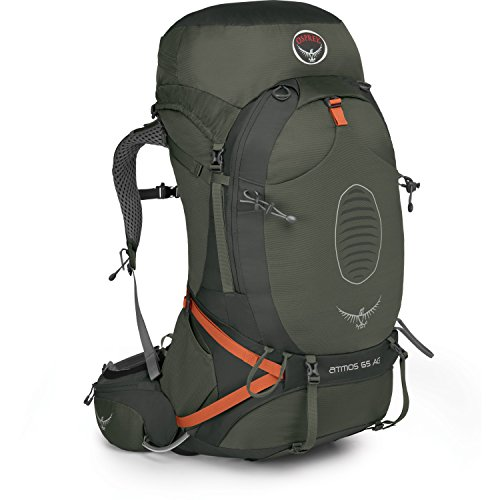 Osprey Atmos AG 65 Hiking Backpack Large Graphite Grey