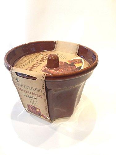 Monkey Bread Baking Mold (Williams Sonoma Ceramic Monkey Bread Baking Mold Bundt Pan Dish)