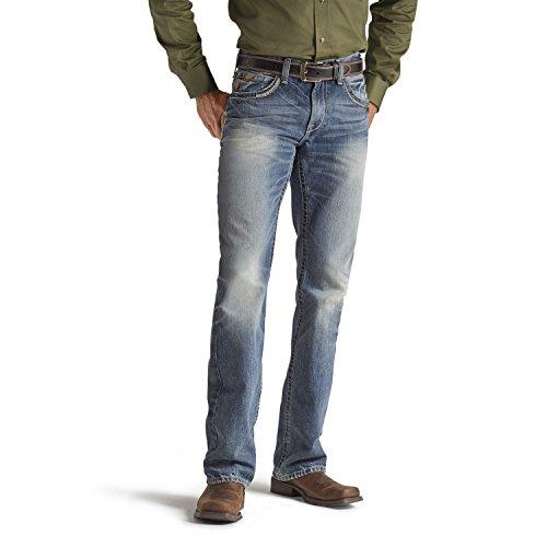 Ariat Men's M5 Slim Fit Straight Leg Jean, Gambler, 38x32