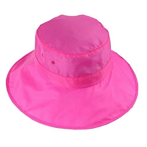 Gorra para pesca hombre para Gorra sol Sombrero Visera Roja Rosa Ahatech visera de de mujer plegable para vq1Swz