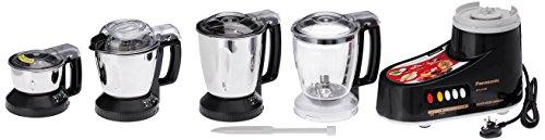 Panasonic MX-AC400 550-Watt 4-Jar Super Mixer Grinder (Color May Vary White Or Black)