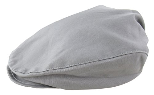 A&J Design Baby Boys Vintage Drivers Cap Toddler Grey Flat Hat