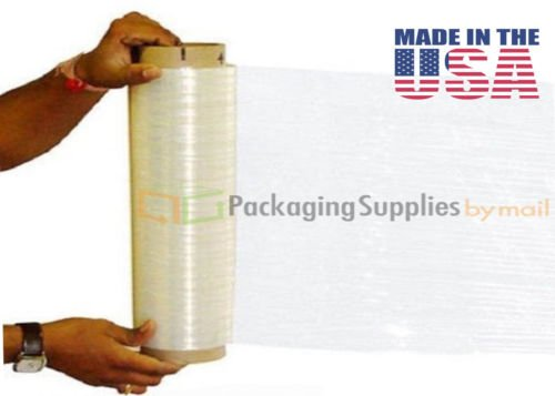 Cast Hand Wrap Stretch Wrap, 18 Inches x 1000 Feet Long, 120 Gauge 8 Rolls by PackagingSuppliesByMail