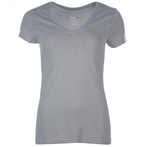 T-shirt à col en V pour femme
